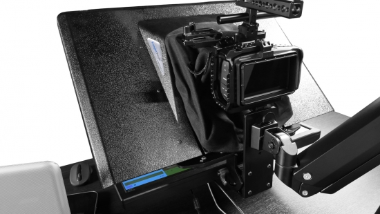 DESKTOP FREE FLY SINGLE ARM TELEPROMPTER