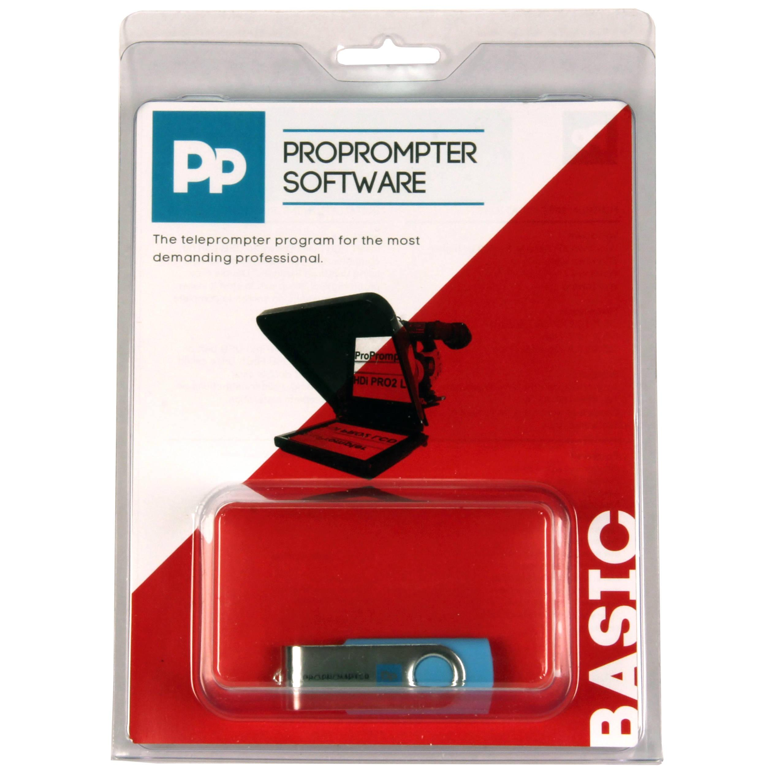 ProPrompter Basic Software v5 (Mac/Windows)
