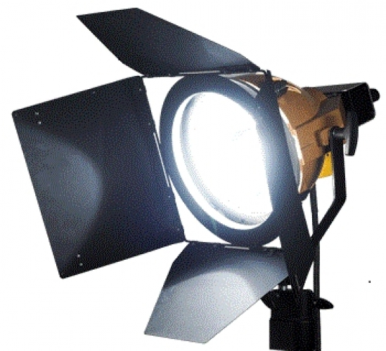 PLATINUM BLONDE 1.2kW HMI FLOODLIGHT KIT C/W BALLAST (C/W BARE ENDS)